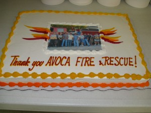 Thank You, Volunteer Firefighters