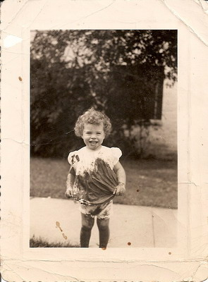 Kathy's Favorite Childhood Photo: Undaunted!